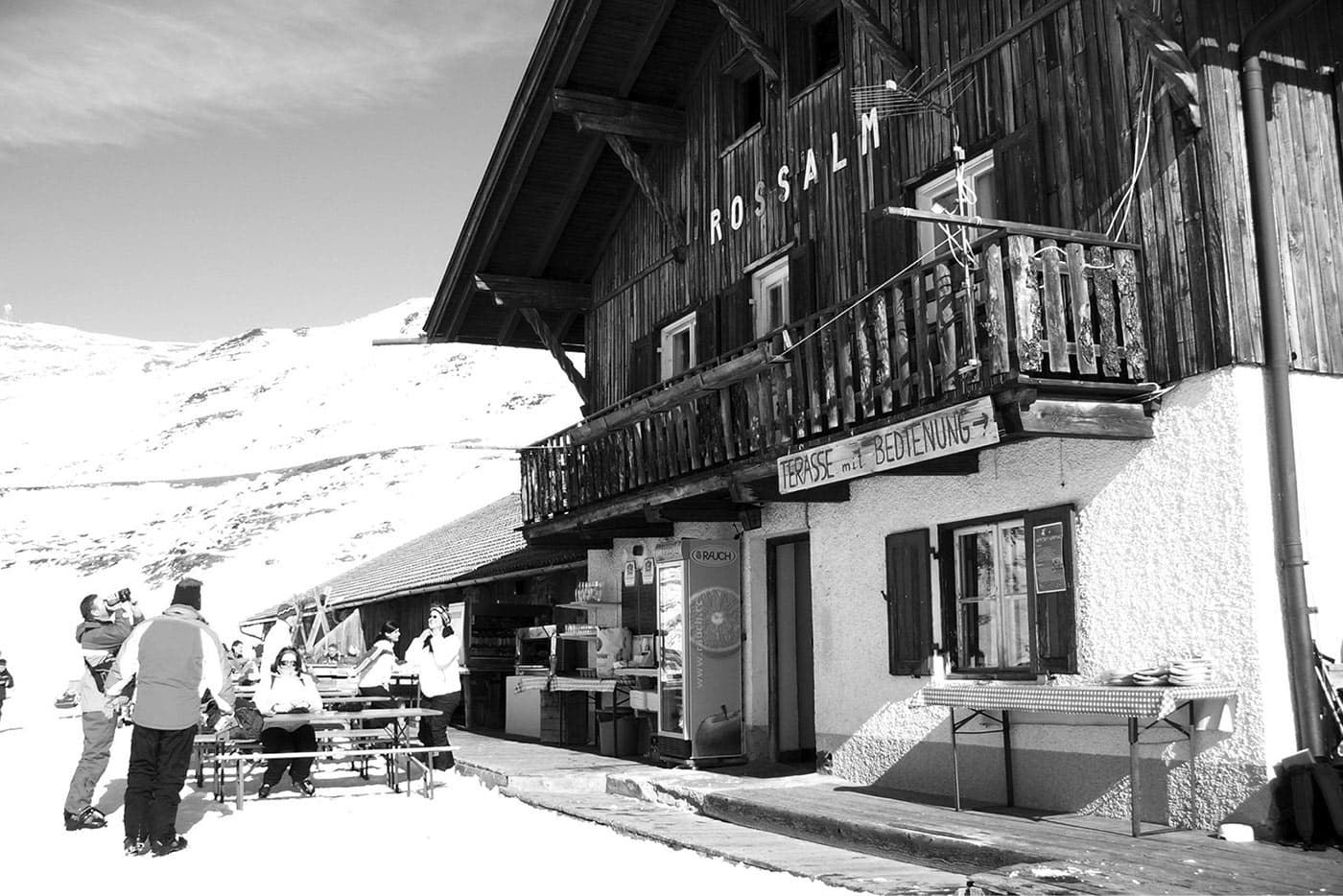 Rossalm in Südtirol | Dolomiten | Plose