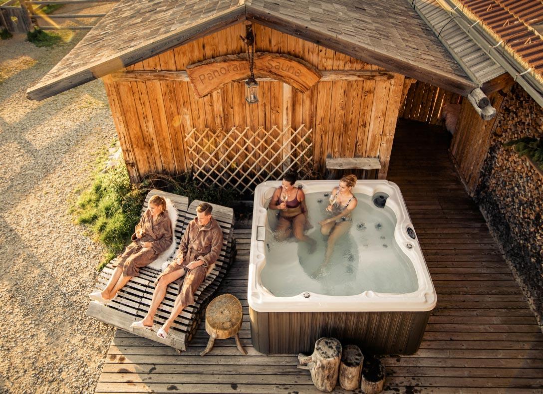 Almzimmern in den Dolomiten